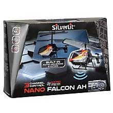 Buy Silverlit Hovering Nano Falcon Helicopter Remote Control, Assorted Colours Online at johnlewis.com