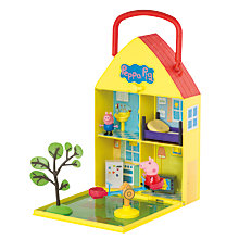 Buy Peppa Pig House and Garden Set Online at johnlewis.com