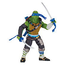 Buy Teenage Mutant Ninja Turtles 2: Out of the Shadows Leo Deluxe Action Figure Online at johnlewis.com