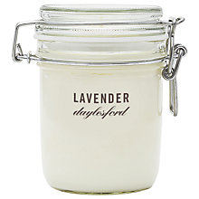 Buy Daylesford Jar Candle, Lavender Online at johnlewis.com