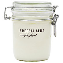 Buy Daylesford Jar Candle, Freesia Online at johnlewis.com