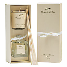 Buy Branche D'Olive Cloud Diffuser & Votive Gift Set Online at johnlewis.com