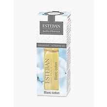 Buy Esteban Cotton Refresher Oil, 15ml Online at johnlewis.com