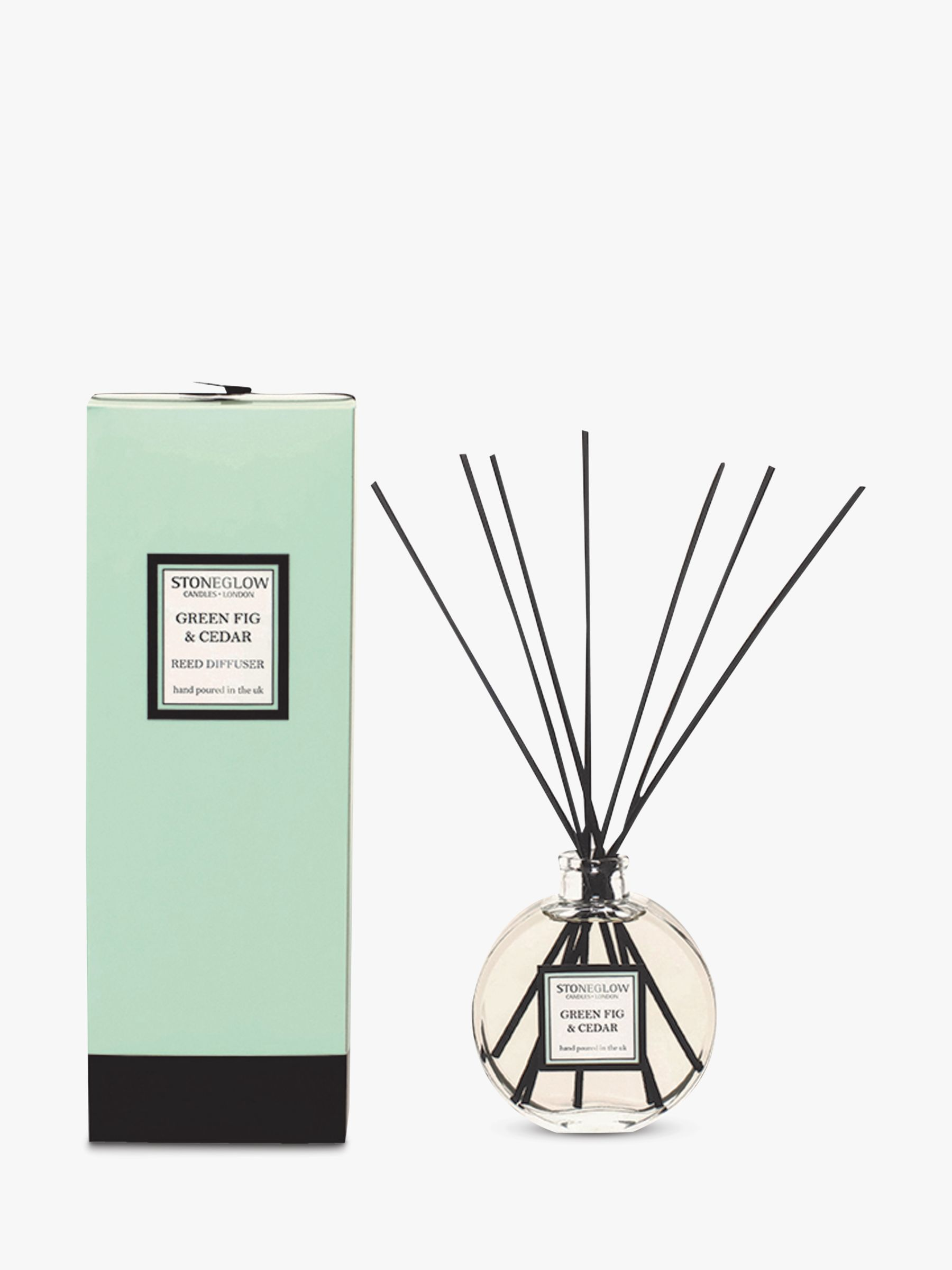 Stoneglow Stoneglow Green Fig and Cedar Diffuser, 140ml