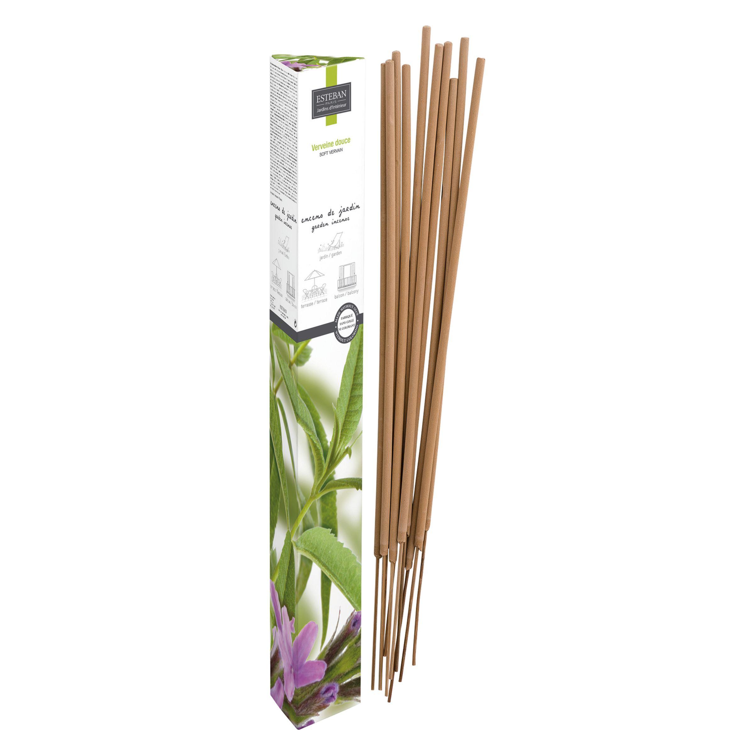 Esteban Esteban Garden Verveine Douce Incense Sticks