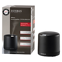 Buy Esteban Urban Chic Edition Ultrasonic Diffuser, Black Online at johnlewis.com