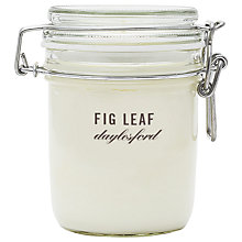 Buy Daylesford Jar Candle, Fig Online at johnlewis.com