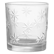 Buy John Lewis Etched Star Tealight Holder Online at johnlewis.com