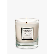 Buy Stoneglow Green Fig and Cedar Scented Candle Online at johnlewis.com