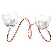 Buy Black and Blum Outdoor Loop Tealight Holder Online at johnlewis.com