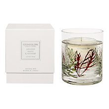 Buy Stoneglow Japanese Maple and Vetivert Scented Gel Candle Online at johnlewis.com