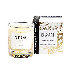 Buy Neom Christmas Wish Candle, 510g Online at johnlewis.com