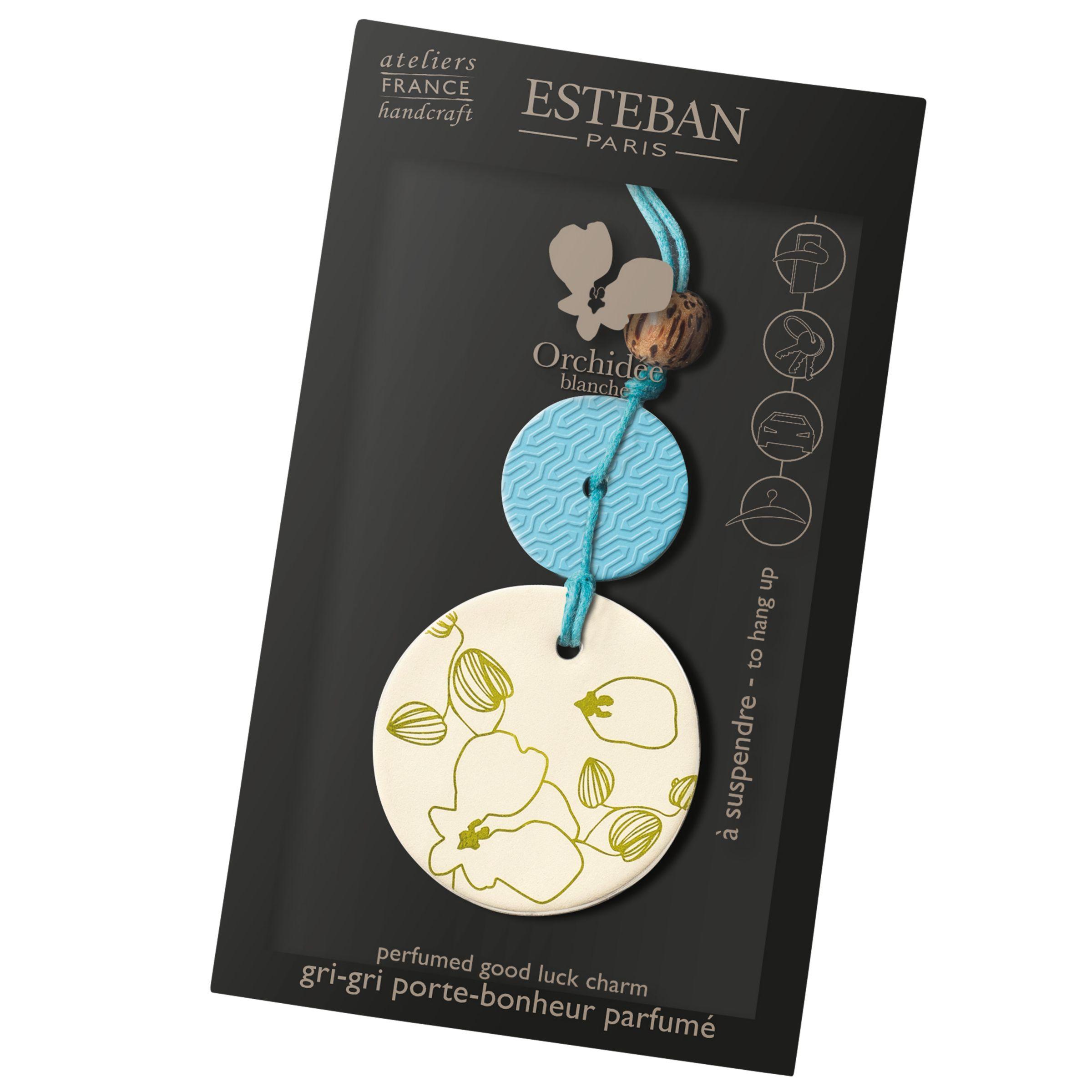 Esteban Esteban Scented Good Luck Charm, Orchidee Blanche