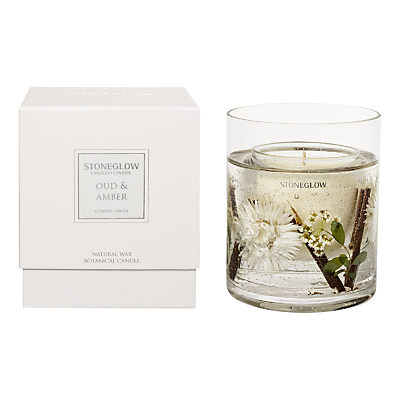 Stoneglow Oud and Amber Scented Gel Candle