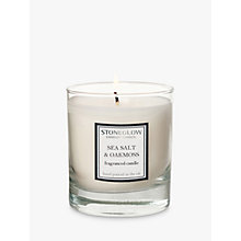 Buy Stoneglow Seasalt and Oakmoss Scented Candle Online at johnlewis.com