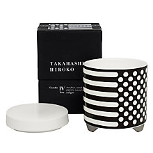 Buy Takahashi Hiroko 'Yon' Scented Candle Online at johnlewis.com