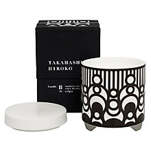 Buy Takahashi Hiroko 'Ni' Scented Candle Online at johnlewis.com