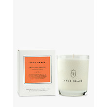 Buy True Grace Oranges and Lemons Scented Candle Online at johnlewis.com