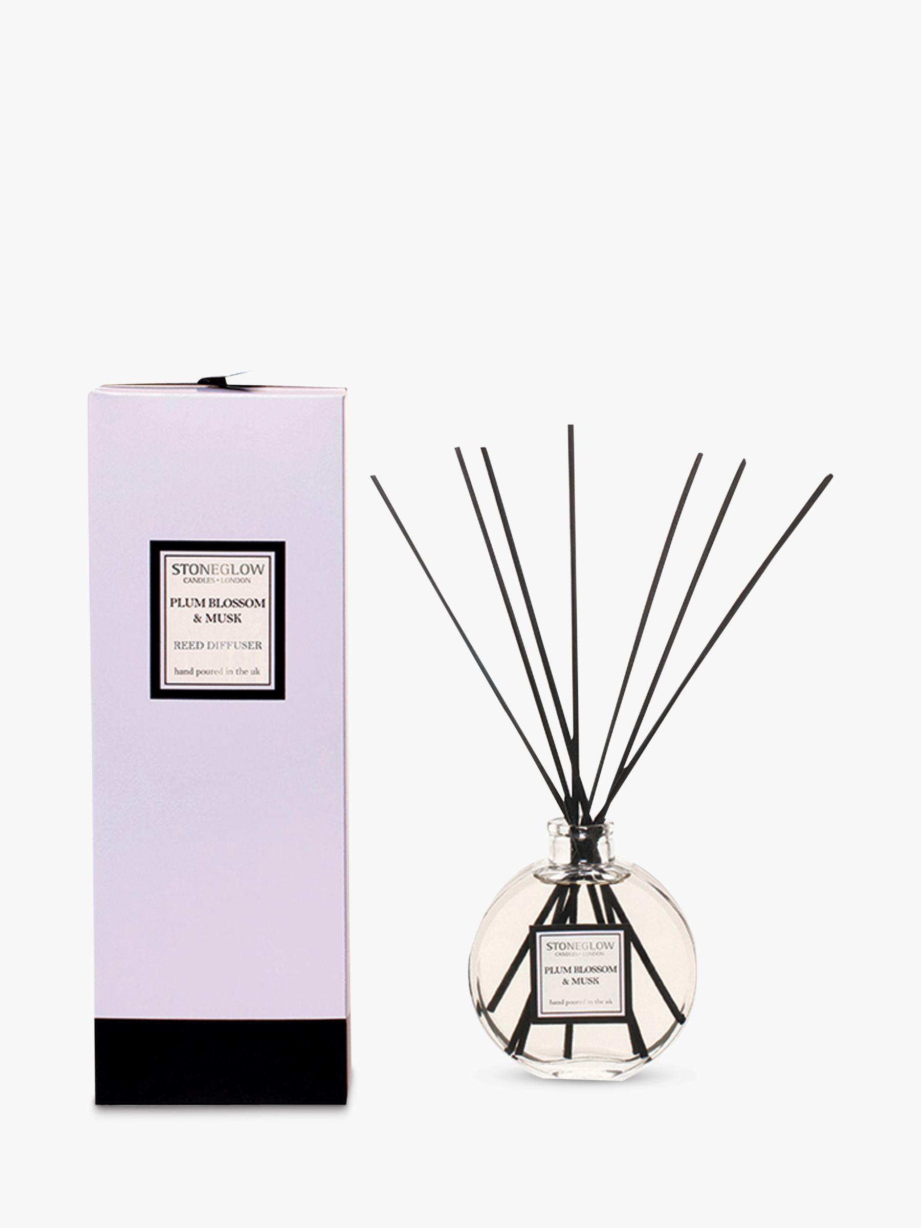 Stoneglow Stoneglow Plum Blossom and Musk Diffuser, 140ml