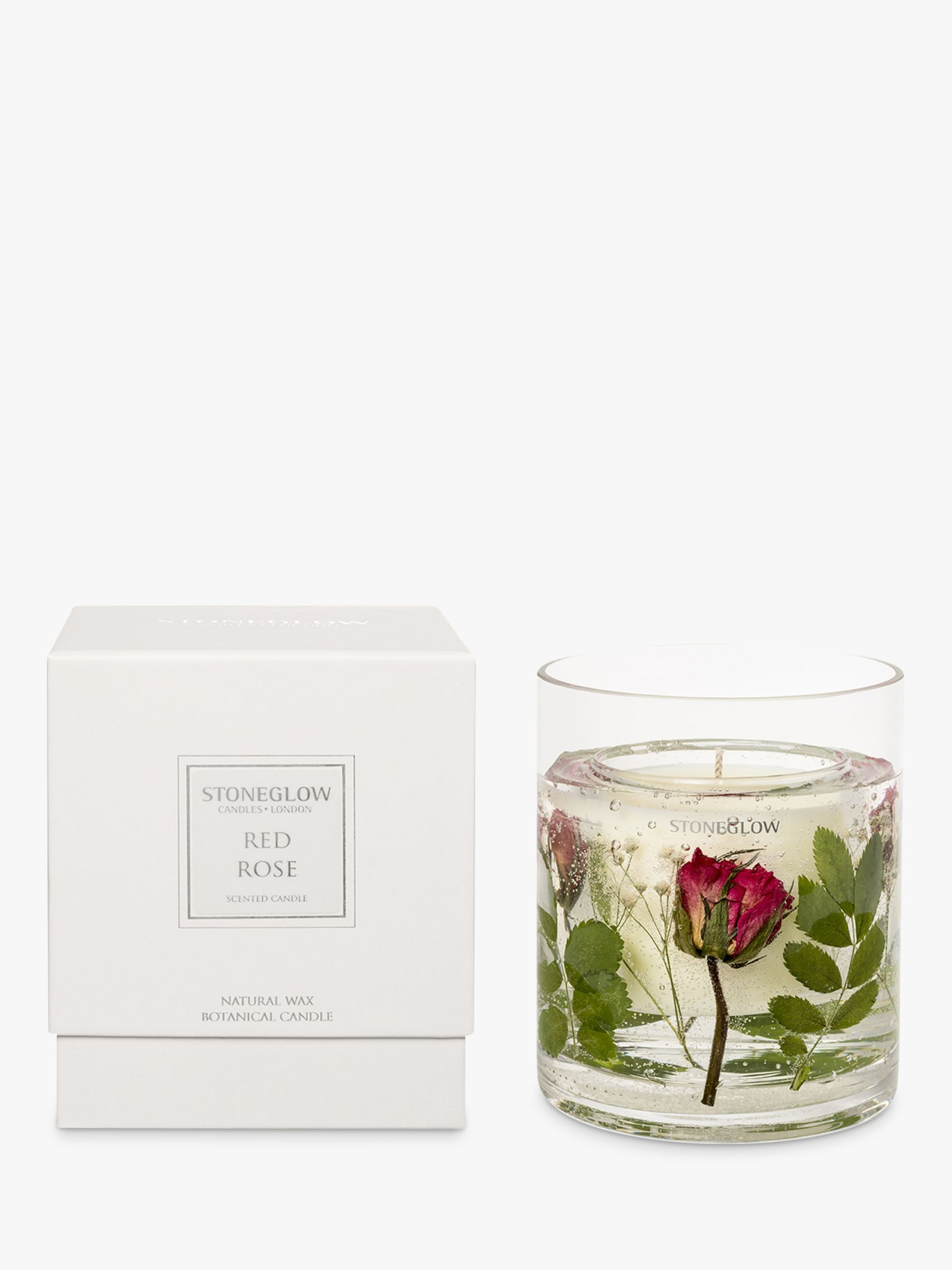 Stoneglow Stoneglow Red Roses Scented Gel Candle