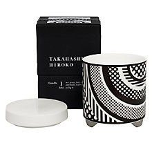 Buy Takahashi Hiroko 'Ichi' Scented Candle Online at johnlewis.com