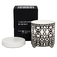Buy Takahashi Hiroko 'San' Scented Candle Online at johnlewis.com