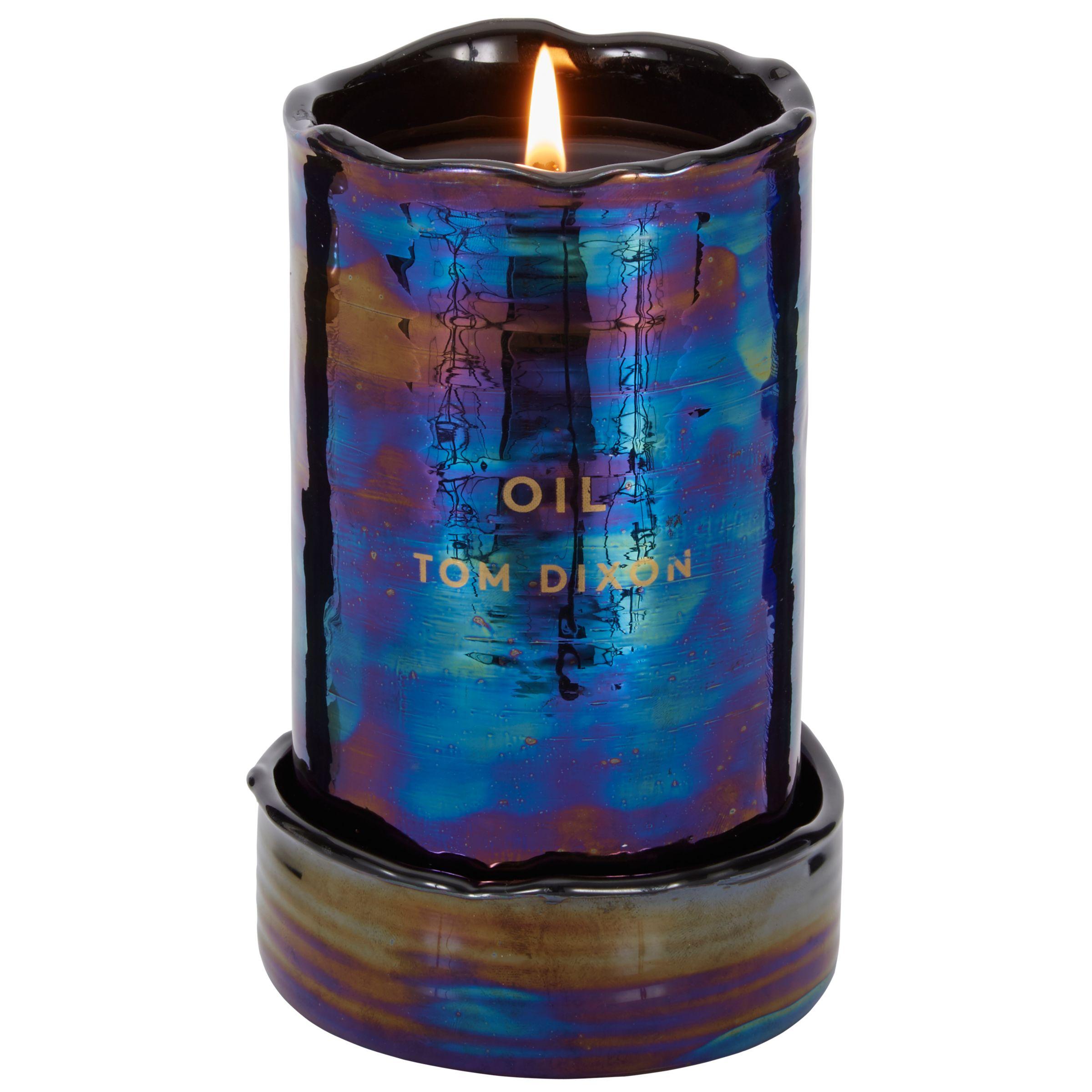 Tom Dixon Tom Dixon Oil Scented Candle, Large