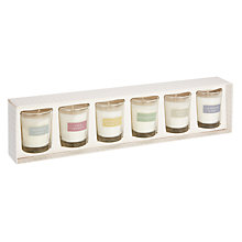 Buy John Lewis Mini Votive Candle Collection Gift Set, Pack of 6 Online at johnlewis.com