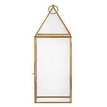 Buy John Lewis Pyramid Lantern, Large Online at johnlewis.com