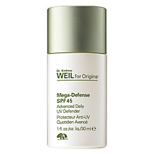 Buy Dr. Andrew Weil for Origins™ Advanced Daily UV Defender SPF 45, 30ml Online at johnlewis.com
