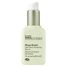 Buy Dr. Andrew Weil for Origins™ Mega-Bright Dark Spot Correcting Serum, 30ml Online at johnlewis.com