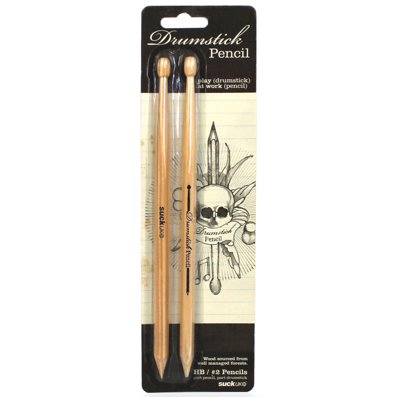 Suck UK Suck UK Drum Pencils, Pack of 2