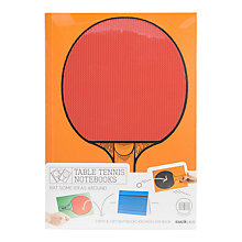 Buy Suck UK Table Tennis Notebooks Online at johnlewis.com
