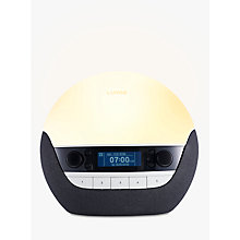 Buy Lumie Bodyclock Luxe 700 Wake up to Daylight SAD Light, White Online at johnlewis.com