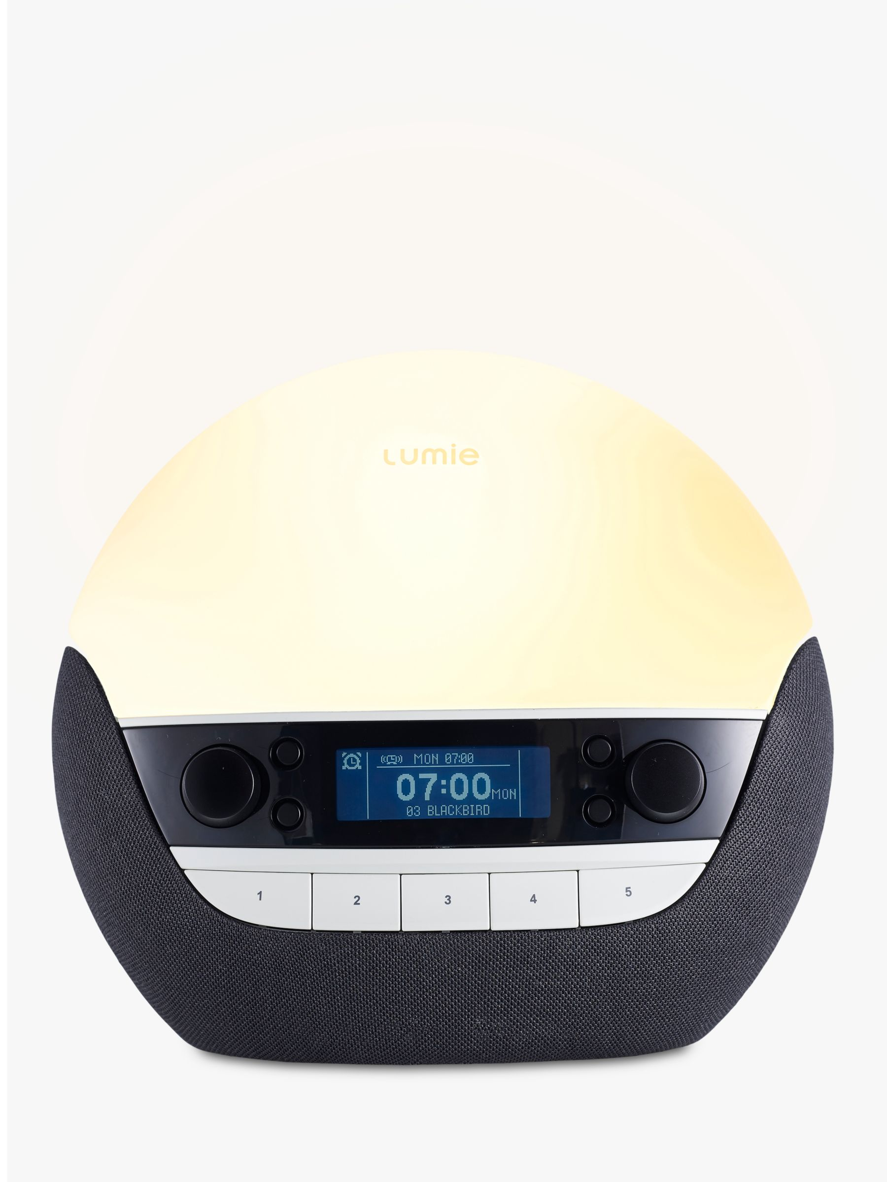 Lumie Lumie Bodyclock Luxe 700 Wake up to Daylight SAD Light, White