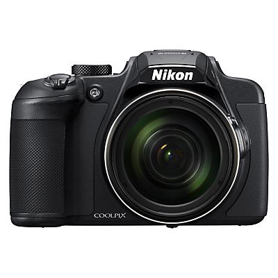"Nikon COOLPIX B700 Bridge Camera, 20.3MP, 4K UHD, 60x Optical Zoom, Wi-Fi, Bluetooth, 3"" Vari-Angle LCD Screen, Black"