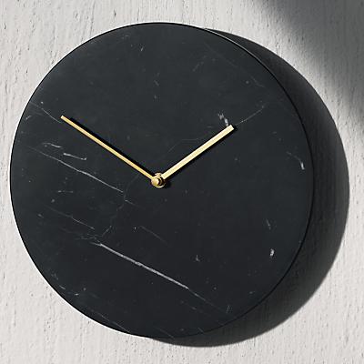 Menu Marble Clock, Dia. 30cm