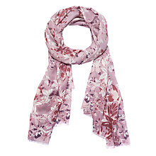 Buy Lola Rose Fierce Elegance Butterflies Wool Blend Scarf, Pink/Multi Online at johnlewis.com