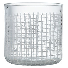 Buy John Lewis Lykta Glass Tealight Holder Online at johnlewis.com