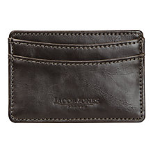 Buy Jacob Jones ID Card Case, Brown Online at johnlewis.com