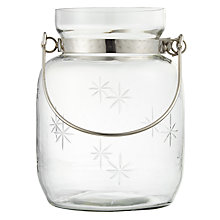 Buy Star Hurricane Candle Holder, 18cm Online at johnlewis.com