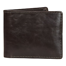 Buy Jacob Jones Wallet, Brown Online at johnlewis.com