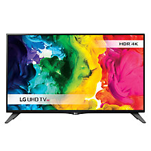 "Buy LG 40UH630V LED HDR 4K Ultra HD Smart TV, 40"" With Freeview HD/Freesat HD, ULTRA Surround Sound & SUPER Slim Design Online at johnlewis.com"