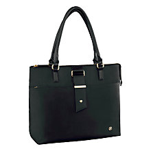 "Buy Wenger Ana 15.6"" Laptop Tote Bag, Black Online at johnlewis.com"