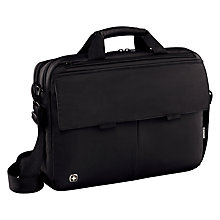 "Buy Wenger Route 16"" Laptop Messenger Bag Online at johnlewis.com"