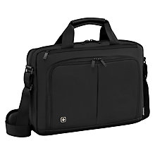 "Buy Wenger Source 16"" Laptop Briefcase with Tablet Pocket Online at johnlewis.com"