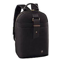 "Buy Wenger Alexa 16"" Laptop Backpack with Tablet Pocket, Black Online at johnlewis.com"