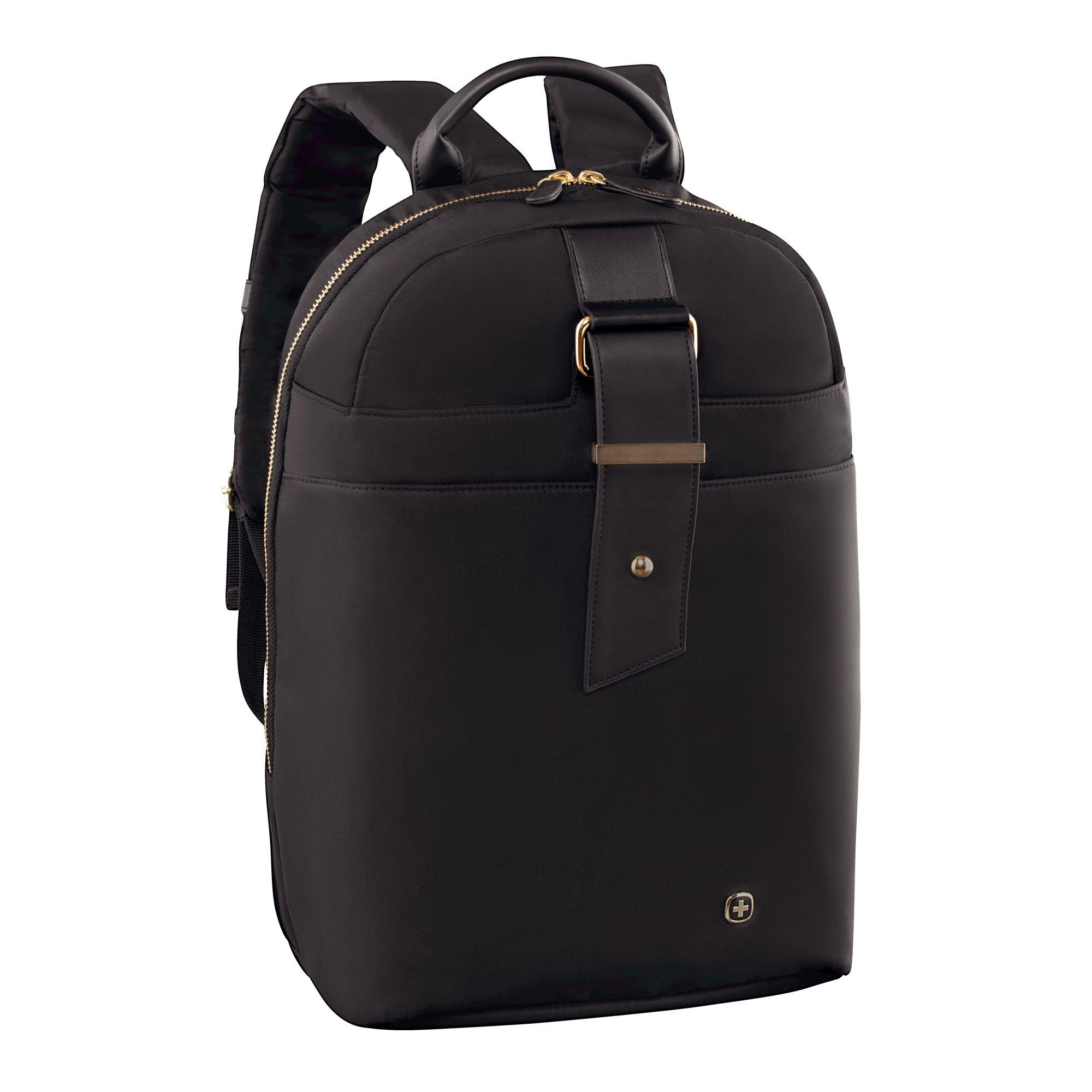 Wenger Wenger Alexa 16 Laptop Backpack with Tablet Pocket, Black