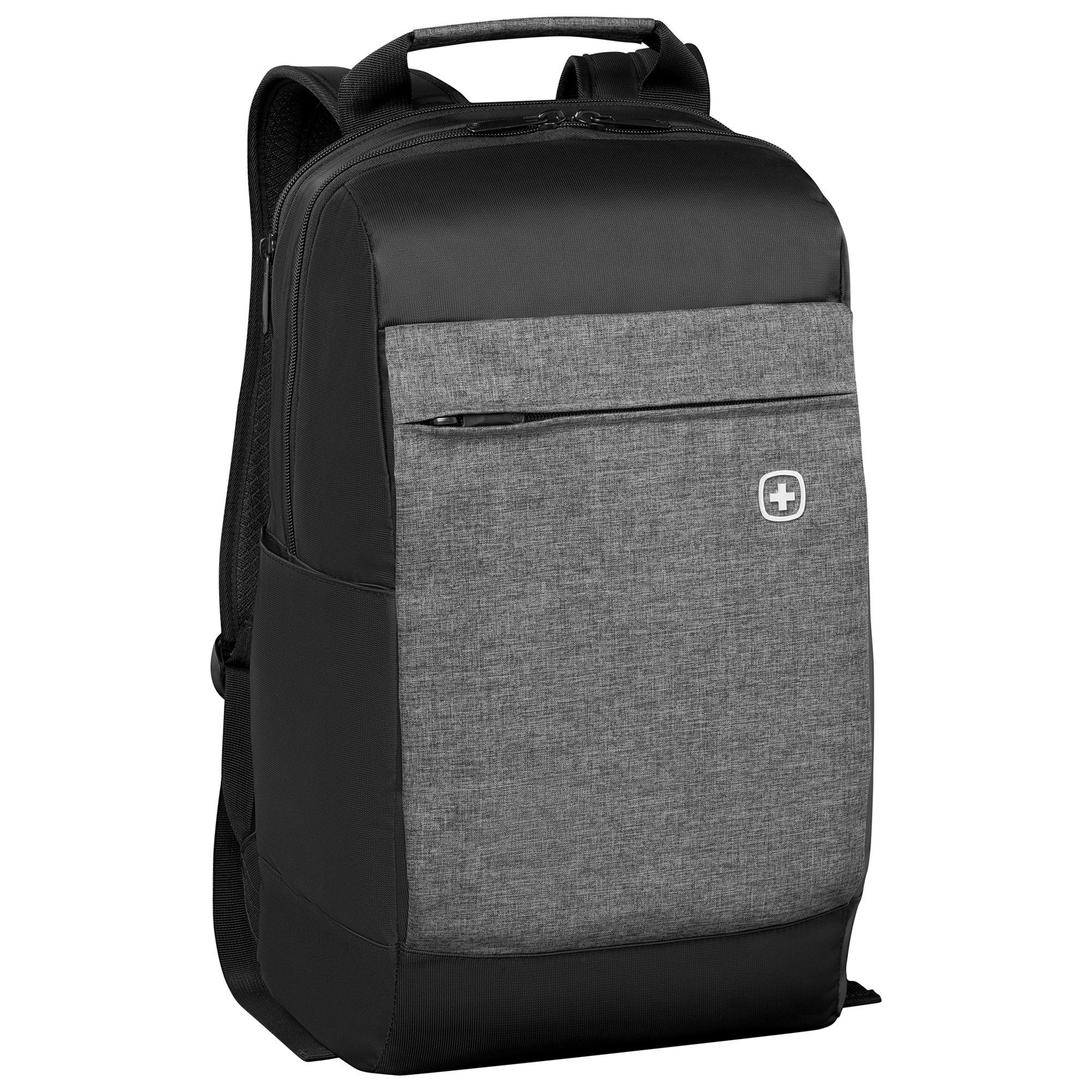 Wenger Wenger Bahn 16 Laptop Backpack, Black