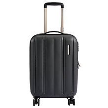 Buy John Lewis Munich 4 Wheel 55cm Cabin Suitcase, Black Online at johnlewis.com